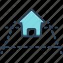 plot, area, house, property, land, concept, real estate