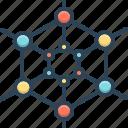 polymer, molecule, polypropylene, cell, structure, atom model