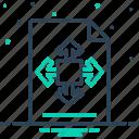 figure, shape, size, structure icon