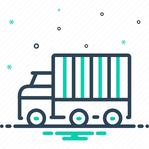 Cargo, container, export, logistics, shipping, trade, warehouse icon - Download on Iconfinder