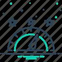 control, efficiency, performance, speed, speedometer icon