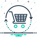 buy, buysell, purchase, sell, vend icon