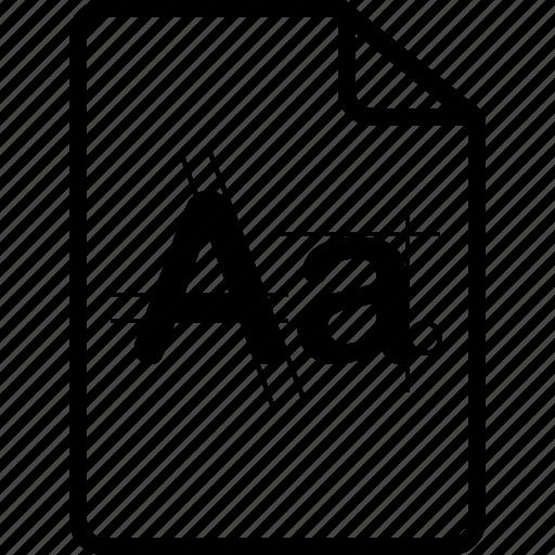 File, font, type icon - Download on Iconfinder on Iconfinder