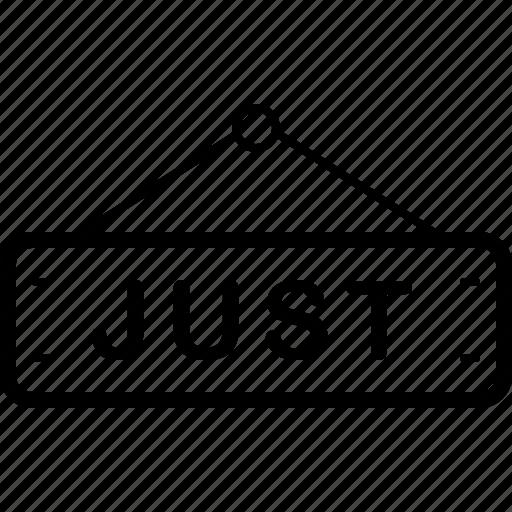 Just, label, tag icon - Download on Iconfinder on Iconfinder