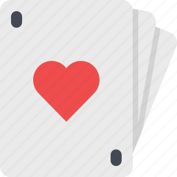 card, casino, gamble, gambling, game, heart, poker icon