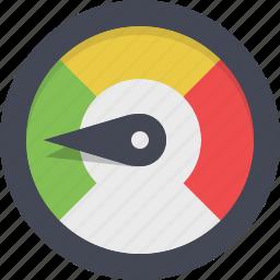 dashboard, gauge, measure, meter, performance, speed, speedometer icon