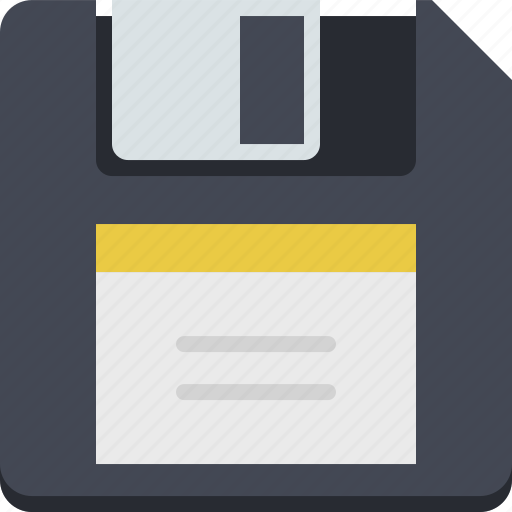 data, data storage, disk, diskette, floppy, save, storage icon