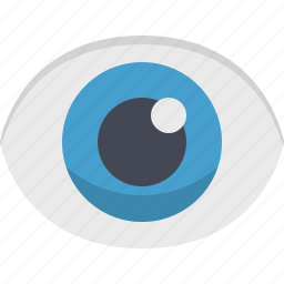 eye, find, look, sight, view, visibility, visible icon