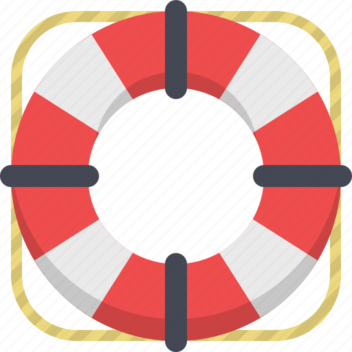 boat, life buoy, protection, safe, safety, support icon