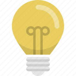 bulb, electric, electricity, energy, light, light bulb, power icon