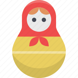 matryoshka, moscow, russia, russian, russian doll, slavic, tradition icon
