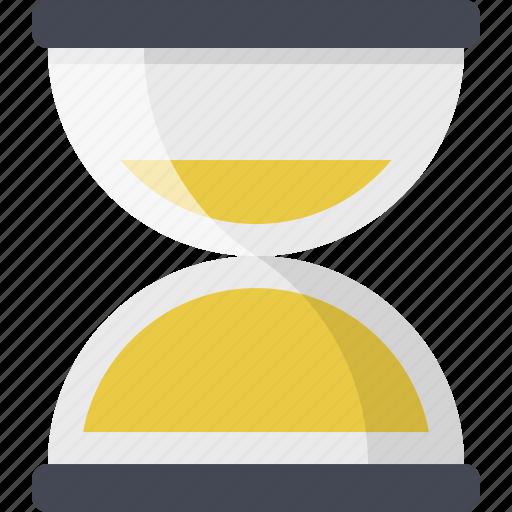 clock, sandclock, schedule, time, wait icon