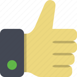 accept, approve, success, thumb, thumb up, yes icon