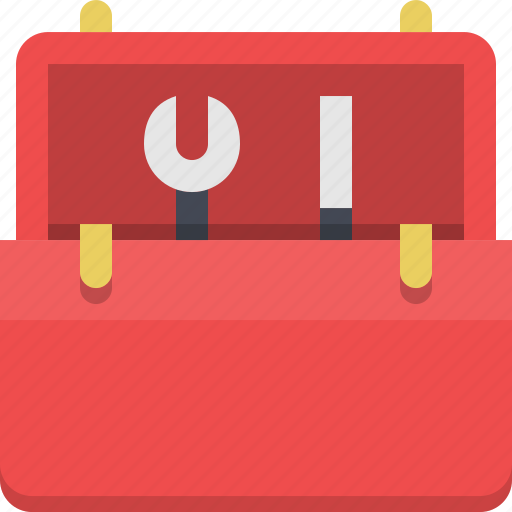 equipment, fix, mechanic, repair, skills, toolbox, tools icon