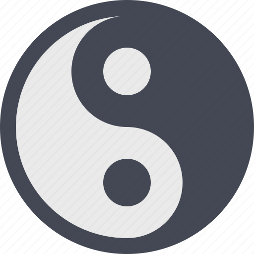 east, kung fu, sign, spiritual, spirituality, yang, yin icon