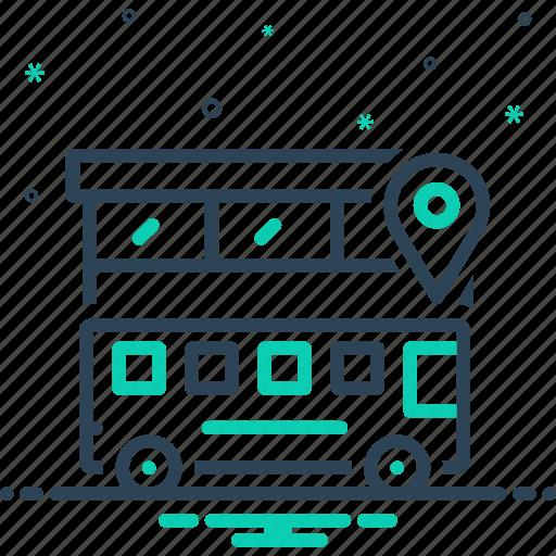 Bus, location, transportation, traveler icon - Download on Iconfinder