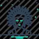 cherokee, logotype, typography icon