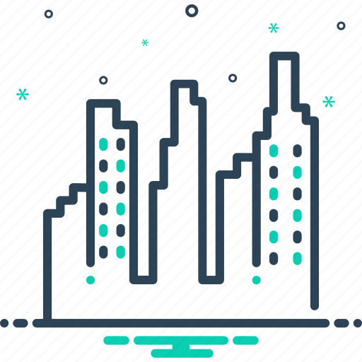 Building, center, city, citycenter, town icon - Download on Iconfinder