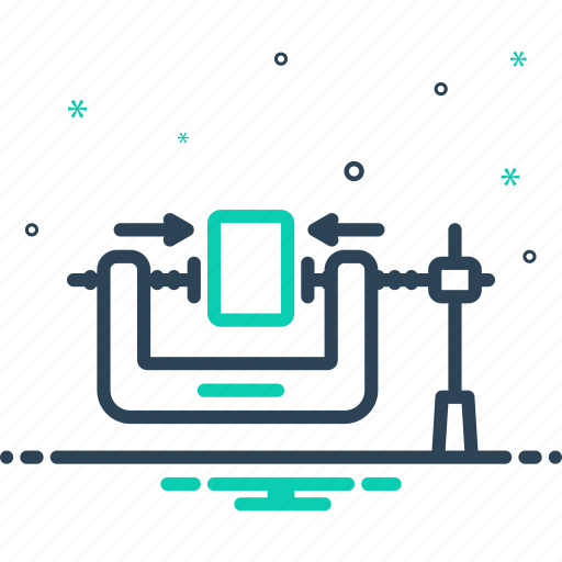 Clampdown, depress, press, squeeze, stifle icon - Download on Iconfinder