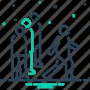 competitiveness, emulation, person, rivalry icon