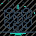 cubed, geometric, puzzle, shape, square