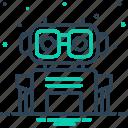 bot, chatbot, program, robotics, technology icon