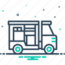 delivery, distribution, export, shipping, transportation icon