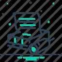 imprint, linotype, machine, print, print shop, shop icon