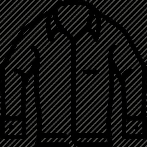 clothes, fashion, garment, man, shirt, wear icon