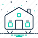 astir, caravan, dapper, dynamic, mobilhome, movable, moveable icon