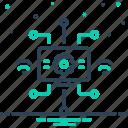automation, digital, modernisation, modernization, technology icon