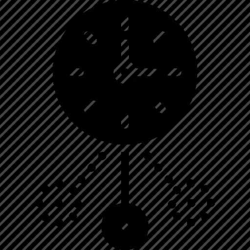 Clock, dangle, oscillate, shaking, shudder, vibrancy icon - Download on Iconfinder