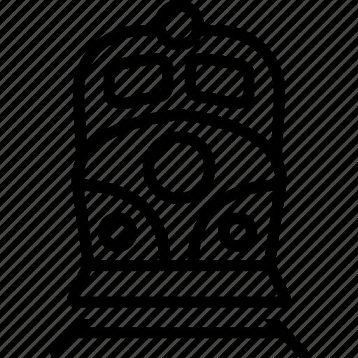 Engine, rail, railway, speed, subway, train, tram icon - Download on Iconfinder