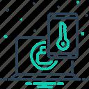 access, account, authentication, authorization, computer, factor, verify icon