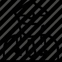 avatar, gentleman, major, man, officer, person, portrait icon
