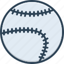 ball, baseball, catcher, hardball, league, outdoor game, softball icon