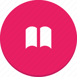 book, document, education, material design, read icon
