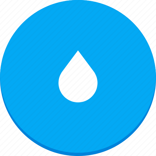 drop, material design, rain, water, weather icon