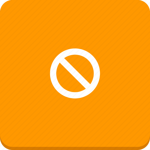 closed, deny, forbidden, material design, remove, restriction, warning icon