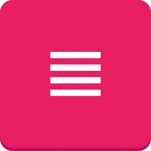 align, document, edit, justify, material design, text icon