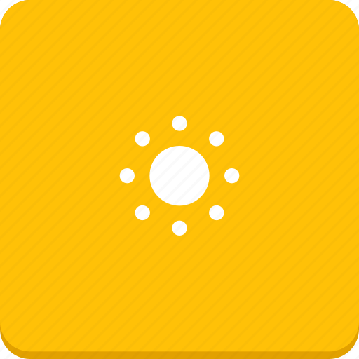 forecast, material design, sun, sunny, weather icon