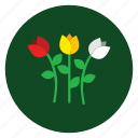 bloom, blossom, floral, flowers, garden icon