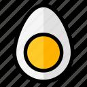 egg, food, protein, yolk icon