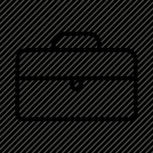 briefcase, business, employment, job, paperwork icon