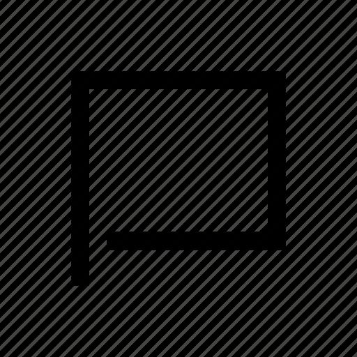 blank, flag icon