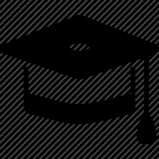academic, achievement, cap, diploma, education, graduation, learning icon
