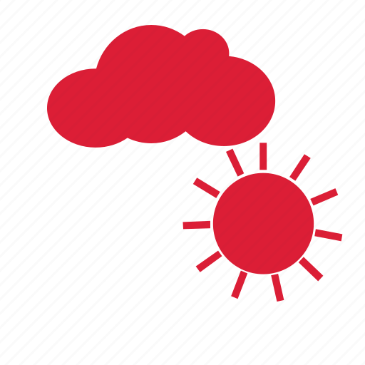 clear, cloudy, forecast, sunny, weather icon