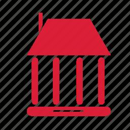 building, education, institute, school icon