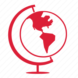 atlast, globe, international, map, world icon