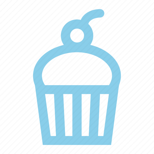 Cherry, cup, cupcake icon - Download on Iconfinder